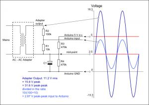 Arduino AC voltage input_1