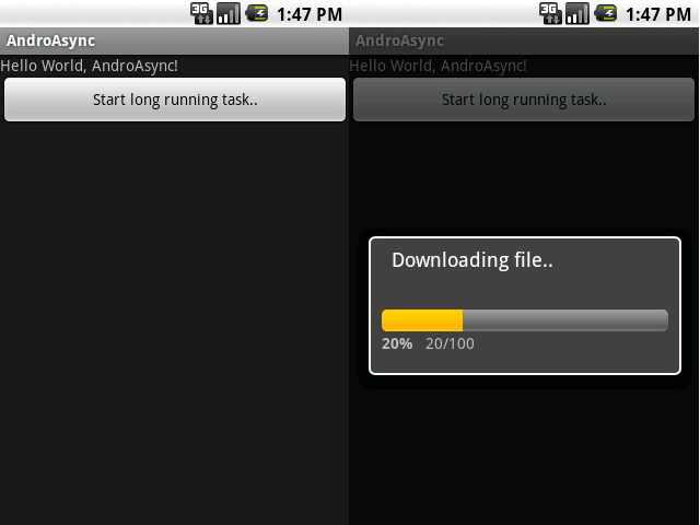 Android Series: Download files with Progress Dialog | Software Passion
